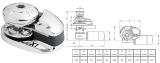 MOLINETE LOFRANS X1 500W/12V S/CAMPANA