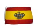 BANDERA ESPAÑA C/CORONA