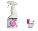 ADITIVO AMBITI BIODEGRADABLE WC RINSE SPRAY 500 ML.