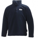 HH K DAYBREAKER 1/2 ZIP FLEECE EV.BLUE 8