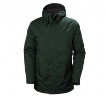 HH HARBOUR PARKA DARKEST SPRUCE S