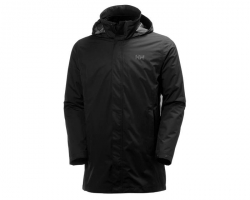 HH MERCER CIS COAT 990 BLACK XXL